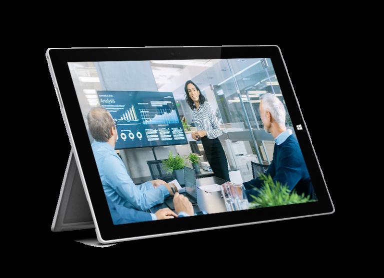 Tablet para colaboración