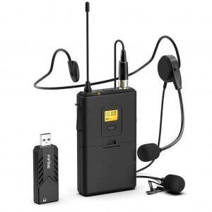Microfonos inalambricos para salas hibridas